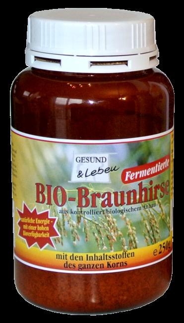 Gesund und Leben : Braunhirse fermentiert, bio (250g)