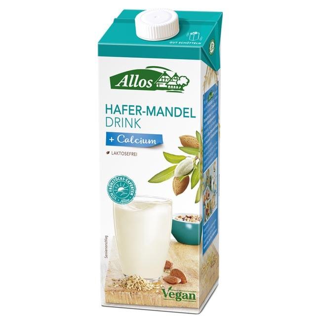 Allos: Hafer Mandel Drink + Calcium, bio