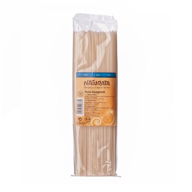 Leckere Reis-Spaghetti von Naturata in der 250g Packung.