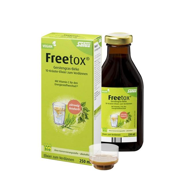 Salus Freetox - Gerstengras-Birke-Elixier zum Verdünnen - Jetzt Detox-Kur starten (250ml)