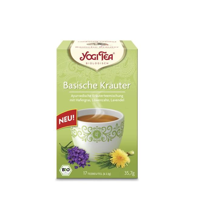 Yogi Tea Basische Kräuter, bio 17 Teebeutel