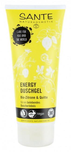 Sante : Energy Duschgel Bio Zitrone & Quitte, bio (200ml)