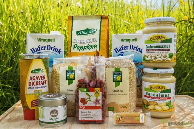 Leckere Produkte - ideal für alle Veggies und solche, die es werden möchten.