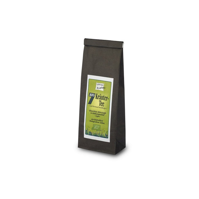 Gesund und Leben: 7 Kräuter-Tee, bio (75g)