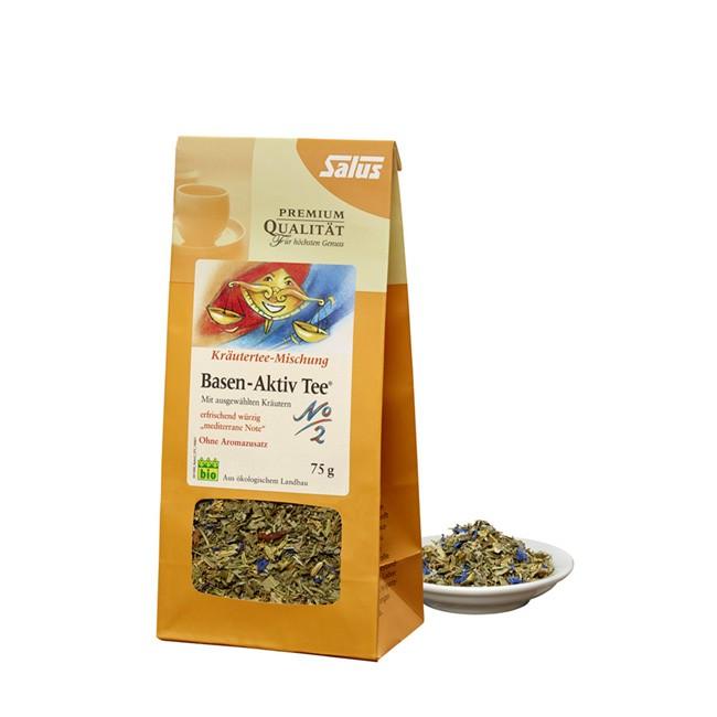 loser Basen-Aktiv Tee (75g) von Salus in Bio Qualität