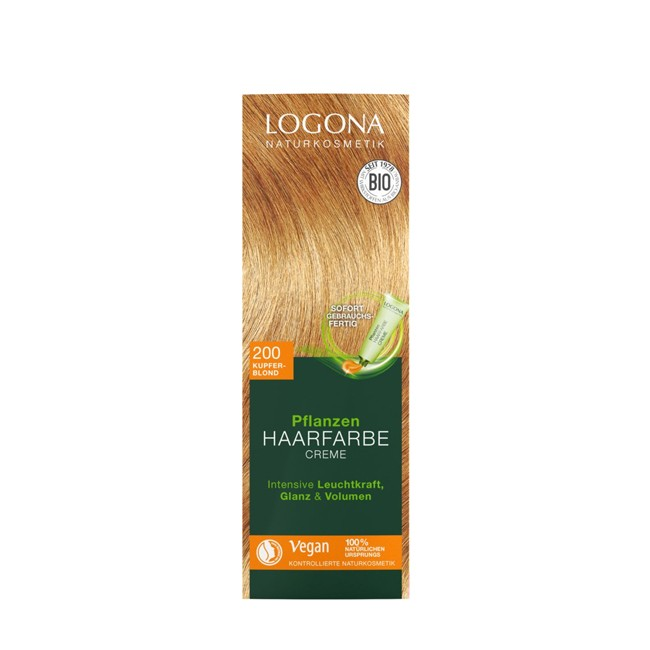 logona : Pflanzen Haarfarbe Kupferblond 200 bio 150ml