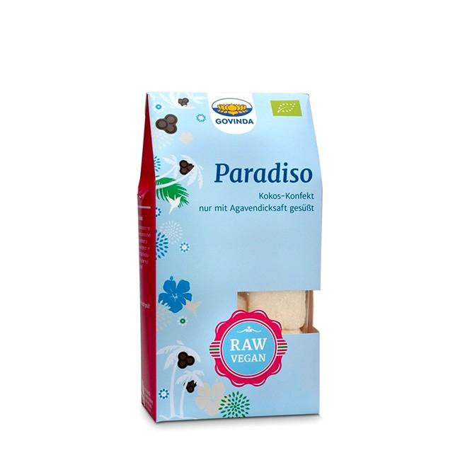 Paradiso Konfekt von Govinda - Kokos Rohkost - bio und vegan, glutenfrei