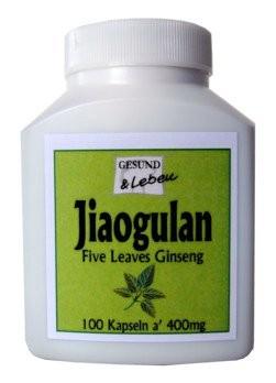 Gesund und Leben : Jiaogulan Kapseln (100 Stk)