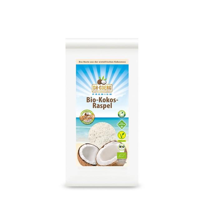 Bio Kokosraspeln (500g) von Dr. Goerg in Premium Qualität