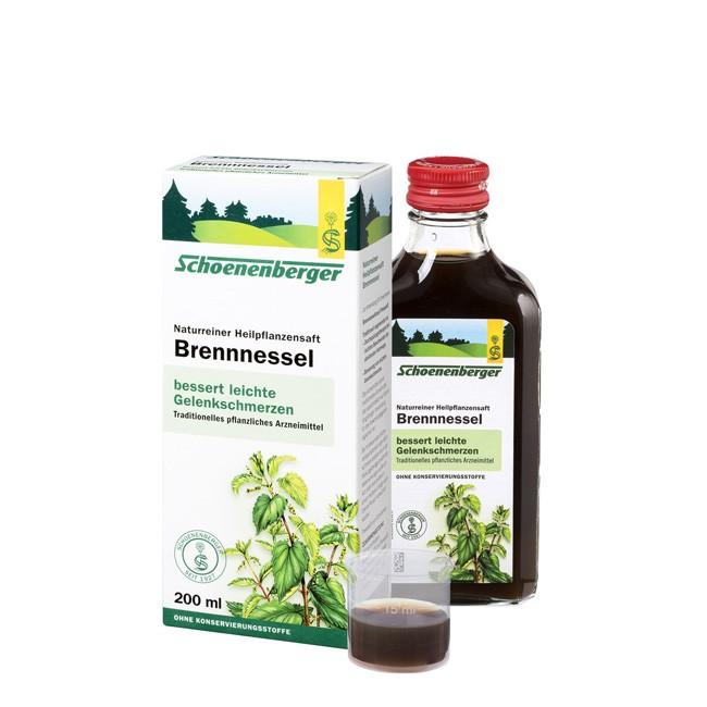 Schoenenberger Brennnessel Heilpflanzensaft 200ml