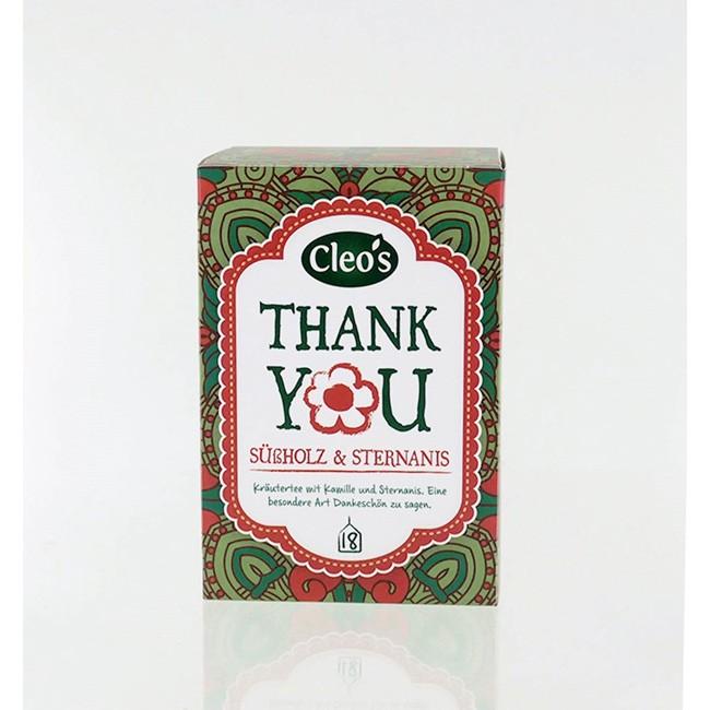 Cleos Thank you Biologischer Tee (18 Beutel)