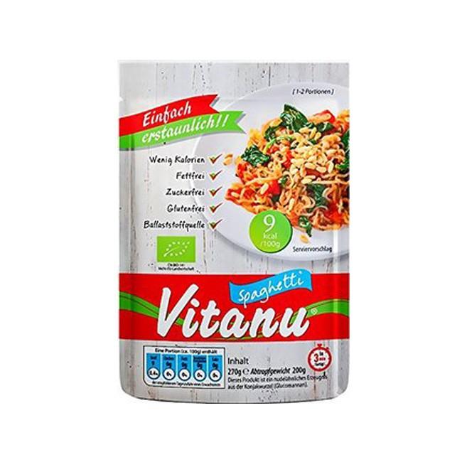 Konjak bio, vegan, glutenfrei Spaghetti von Vitanu 270g