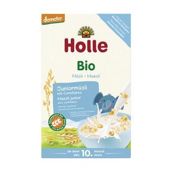 Holle : Bio Juniormüsli Mehrkorn mit Cornflakes, demeter (250g)