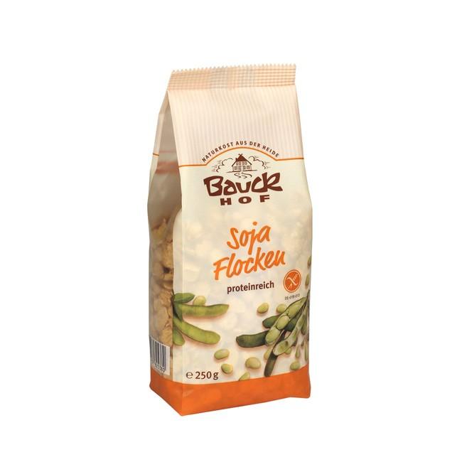 bio soja-Flocken von Bauckhof, glutenfrei 250g