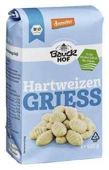Bauckhof : Hartweizengrieß, Demeter (500g)
