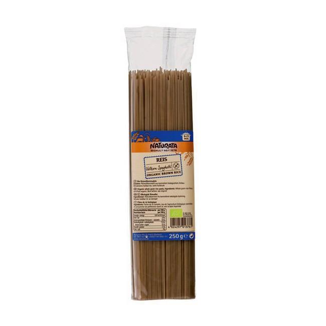 Naturata Reis Vollkorn Spaghetti Bio 250g