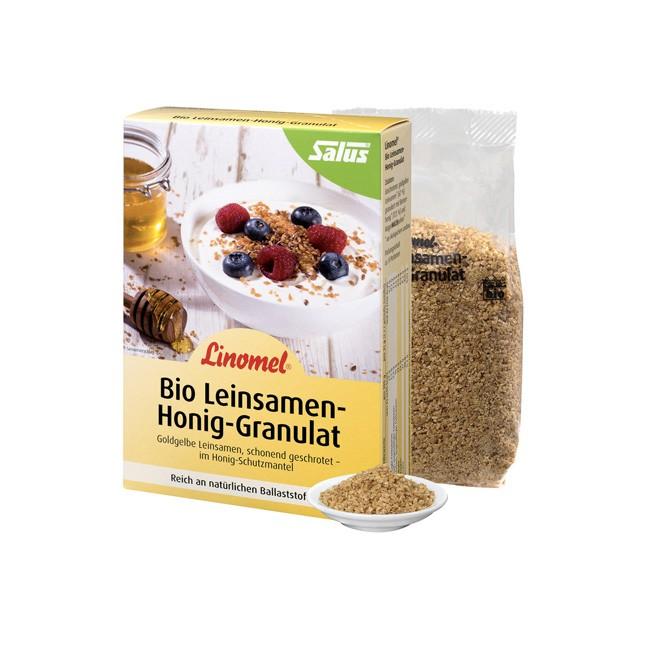 Bio Linomel Leinsamen-Honig-Granulat von Flügge (250g)