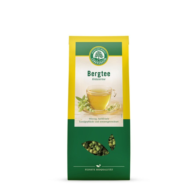 Lebensbaum Bio Bergtee aus Blütenrispen 30g loser Tee
