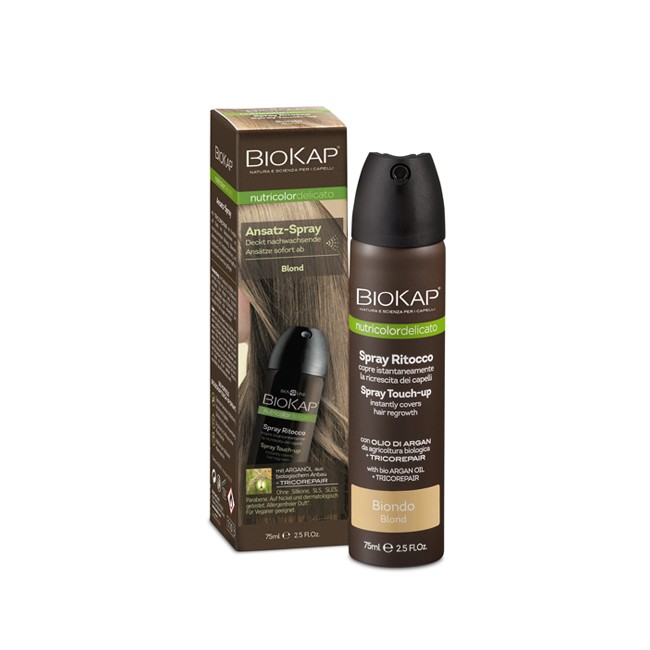 BioKap : Ansatzspray blond (75ml)