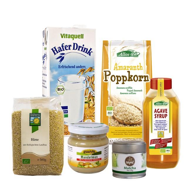 Vegan Paket für Einsteiger - 6 sinnvolle Produkte für Ihre vegane Ernährung!