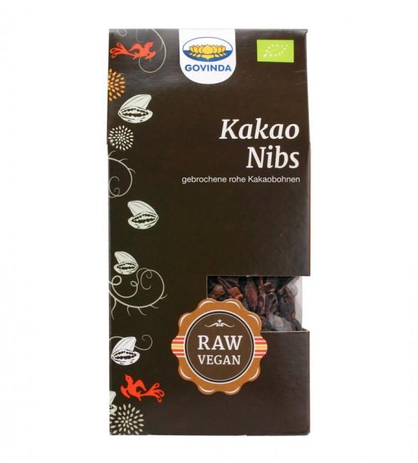 Kakao Nibs von Govinda - Rohkost - aus der Criollo Bohne