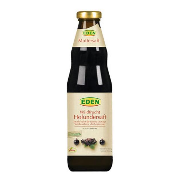 Bio Wildfrucht Holundersaft von Eden - Muttersaft 750 ml