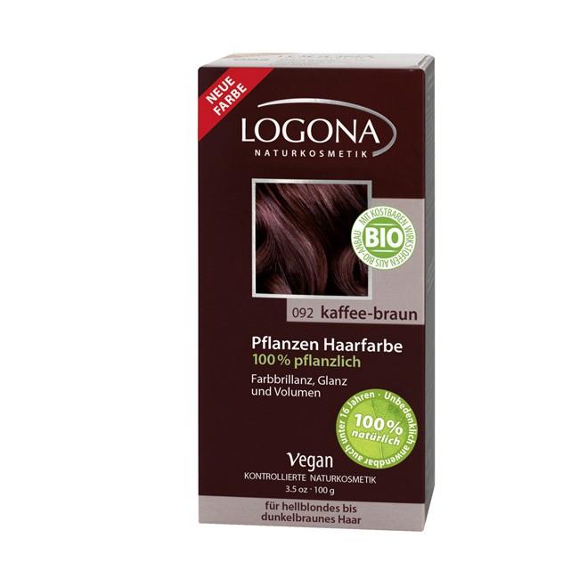 Logona Haarfarben Pulver Kaffee Braun 100g Bio Kosmetik