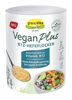 granoVita : Vegan Plus B12 Hefeflocken (160g)