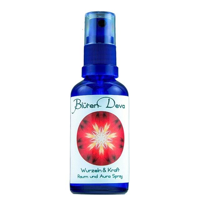 Blüten Deva : Wurzel & Kraft Auraspray (50ml) (Kosmetik)