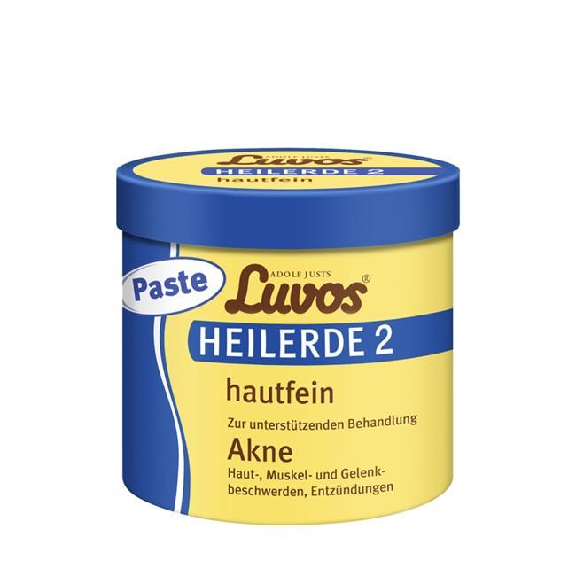 Heilerde Paste 2 Hautfein von Luvos - gegen Akne und Entzündungen