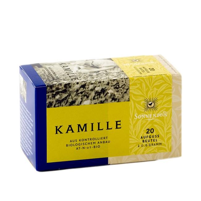 Sonnentor Bio Kamillenblüten Tee im Beutel (20 Stück)
