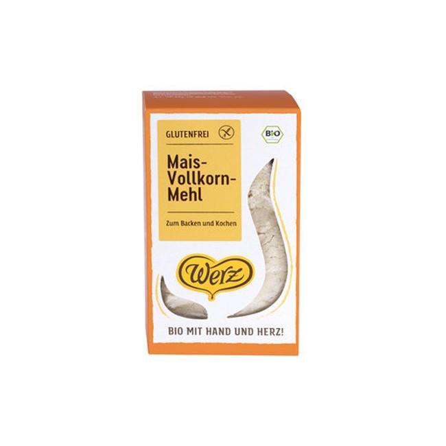 Werz-Mais-Vollkornmehl Bio und glutenfrei (500g)