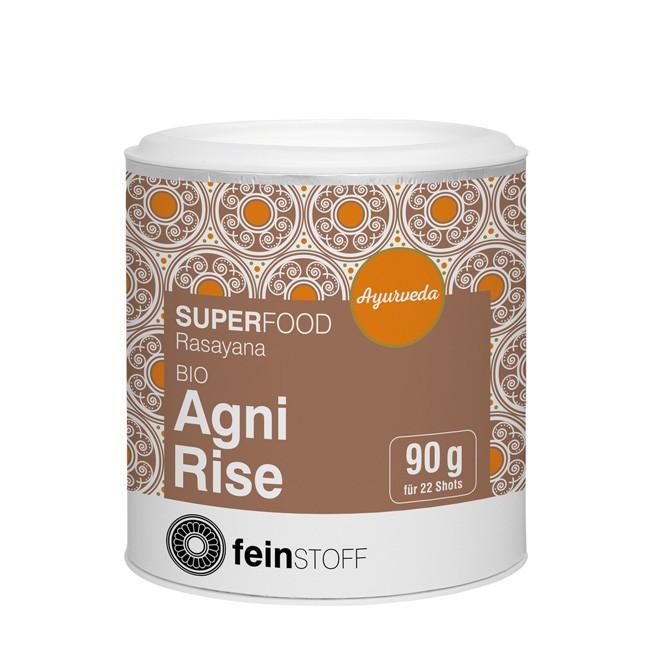 Bio Rasayana Agni Rise von Feinstoff (90g) - ayurvedisches Smoothiepulver