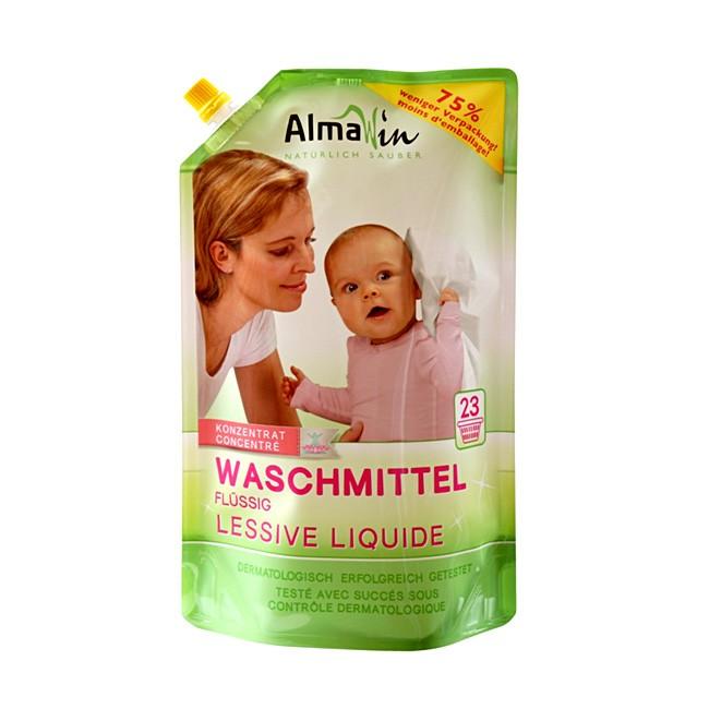AlmaWin Nachfüllbeutel 1,5l Flüssig Waschmittel