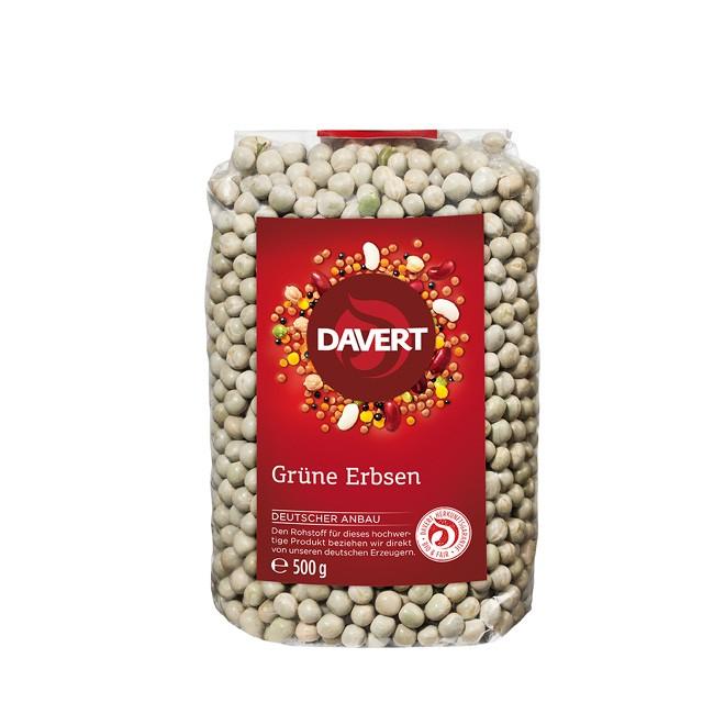 davert_Gruene_Erbsen-bio-500g