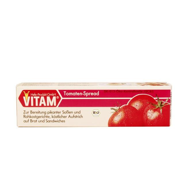 Vitam Tomaten bio Aufstrich Spread auch zum Verfeinern von Speißen geeignet 80g