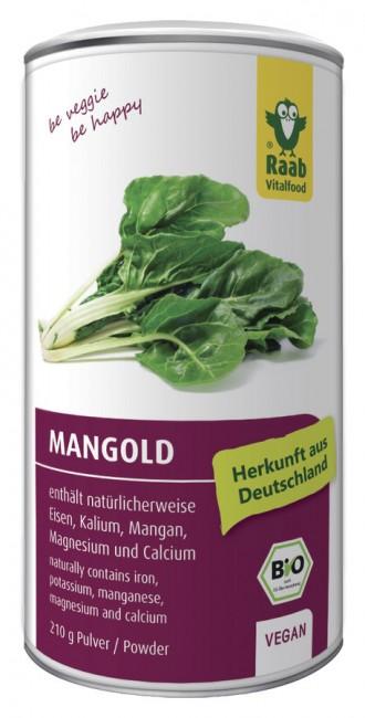 Raab : Mangold Pulver, bio (210g)