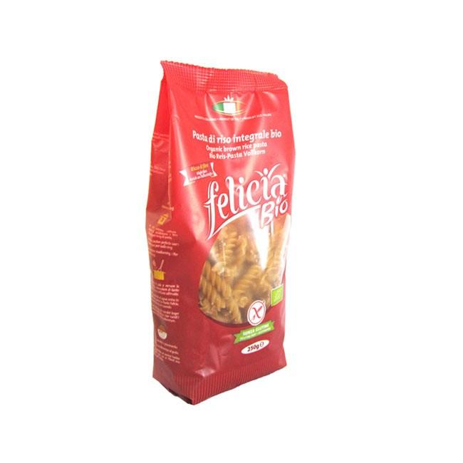 glutenfreier Nudelspaß mit Felicia Bio Reis Vollkorn Fusilli