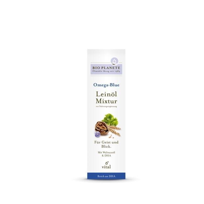 Bio Planète Omega Blue Leinöl-Mixtur, bio 100ml