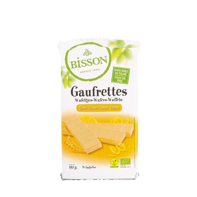 Bisson Waffel Zitrone, bio (190g)