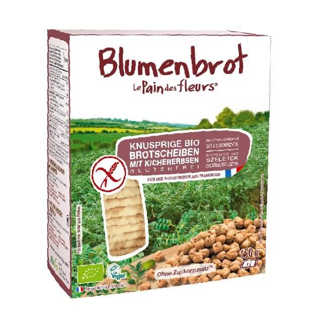 Blumenbrot Kichererbse 150g Bio, glutenfrei und pur