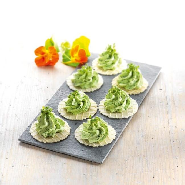 Crispies nature glutenfrei Waffelscheiben von Schnitzer - als Snack und fürs Buffet