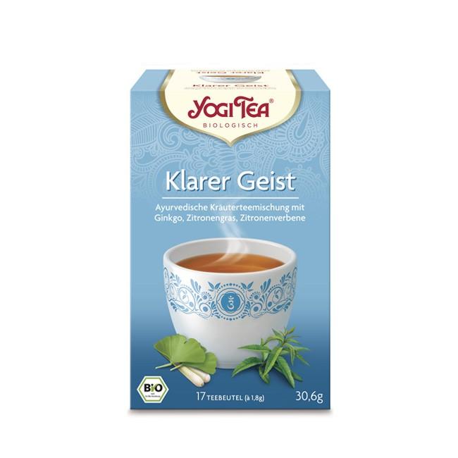 für einen klaren Kopf Yogi Tea Klarer Geist bio