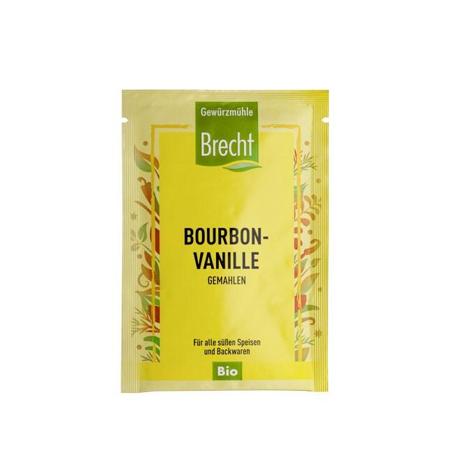 Bourbon Vanille von Brecht (5g) gemahlene Bio Qualität