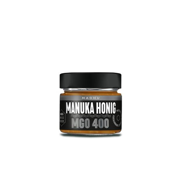 Madhu : Manuka-Honig MGO 400 Schwarz (150g)