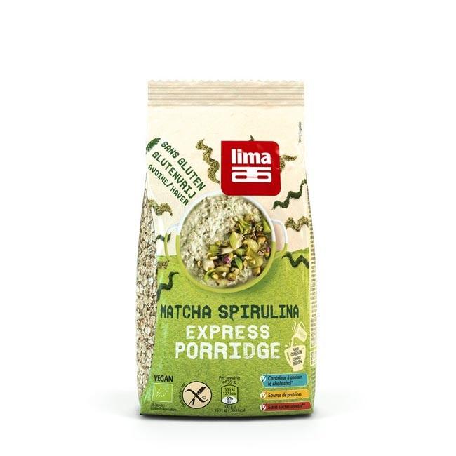 Lima Porridge Matcha Spirulina glutenfrei, bio 350g