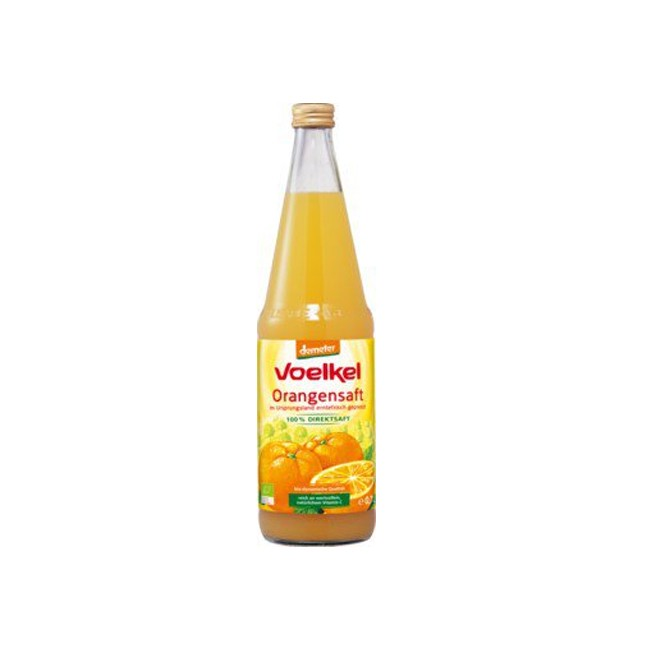 Voelkel : Orangensaft 100% Direktsaft, demeter (0,7l)