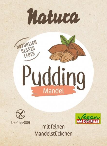Natura : Pudding Pulver - Mandel (3x50g)