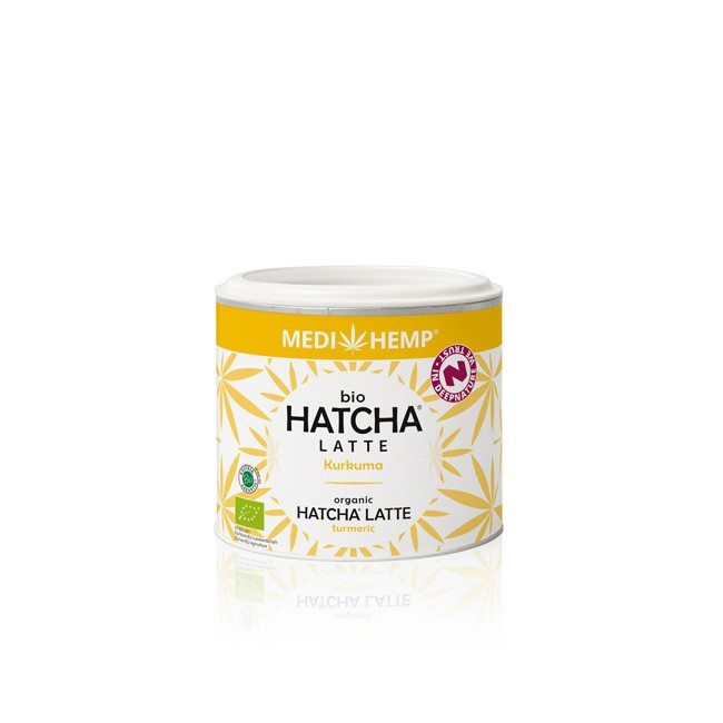 Medihemp: Hatcha Latte Kurkuma, bio (45g)
