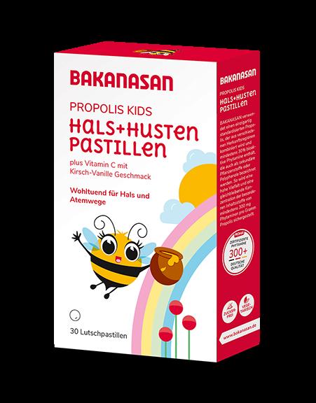 Bakanasan : Propolis KIDS Hals + Husten-Pastillen (45g)